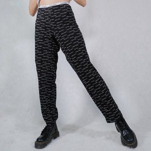 CALVIN KLEIN BLACK PAJAMA PANTS PJ LOUNGE SWEATS